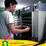 mesin id card pabrik